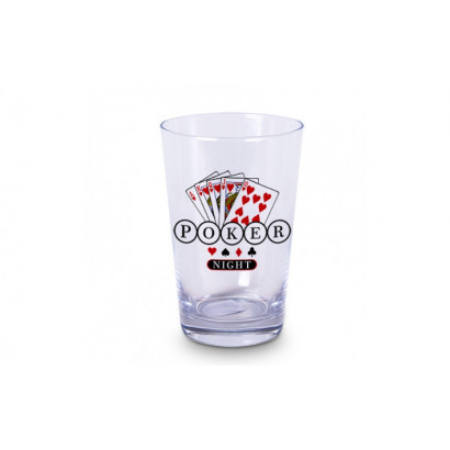 Copo caldereta Poker night. ref.: COW-S-3083