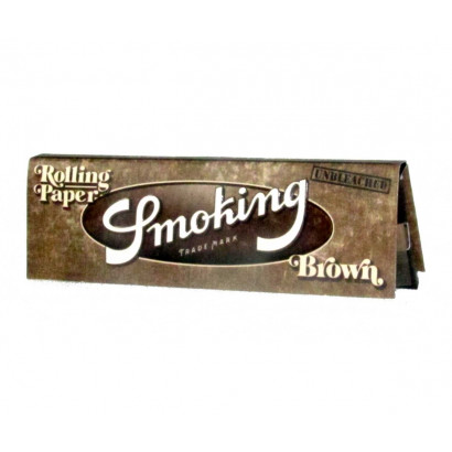 Papel p/ Cigarro Smoking Brown Pequena c/50