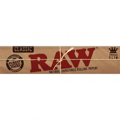 Papel p/ Cigarro Raw Grande c/33
