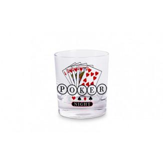 Copo Whisky - Poker night. ref.: COW-S-3082
