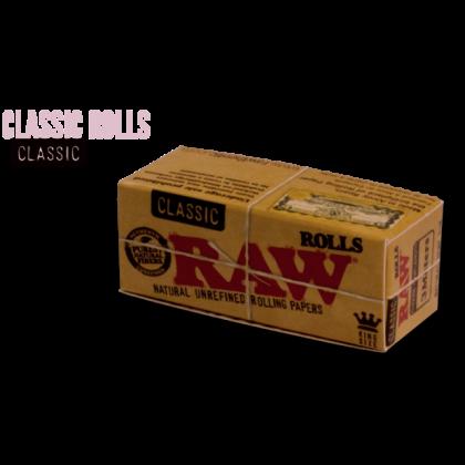Papel p/ Cigarro Raw em Rolo 5m