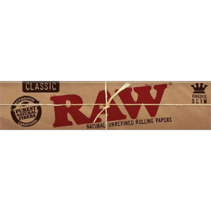 Papel p/ Cigarro Raw Grande c/33