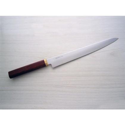 """Faca Zakharov Sashimi Kansai Plus 11"""" cabo de madeira"""