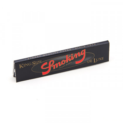 Papel p/ Cigarro Smoking Deluxe Grande c/33