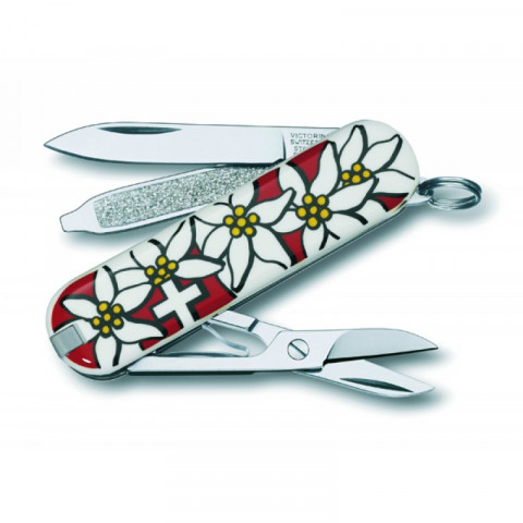 CANIVETE VICTORINOX CLASSIC EDELWEISS 0.6203.840