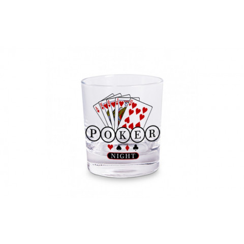 Copo Whisky - Poker night. ref.: COW-S-3082