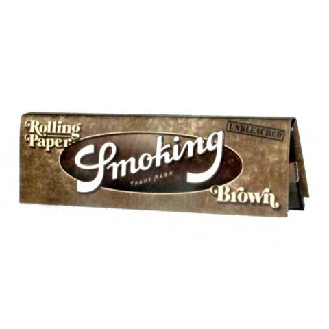 Papel p/ Cigarro Smoking Brown Pequena c/50
