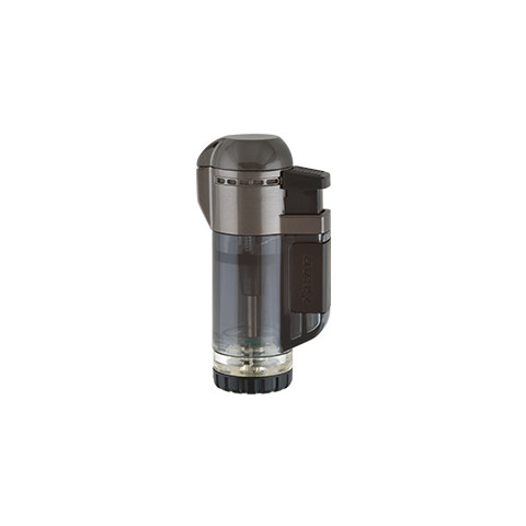 Isqueiro maçarico Xikar Tech Single Lighter Preto