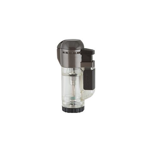 Isqueiro maçarico Xikar Tech Single Lighter Clear